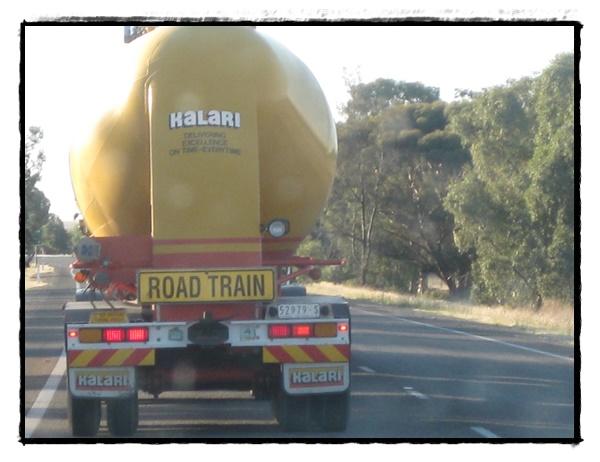 Roadtrain Australie