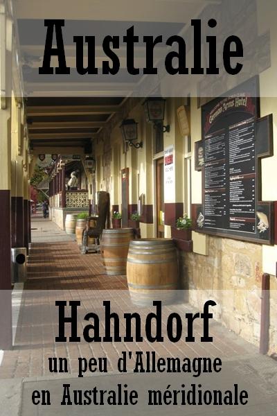 Hahndorf : un peu d'Allemagne en Australie