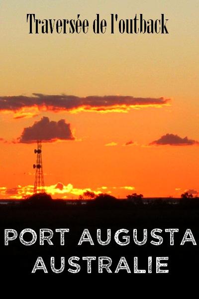 Port Augusta Australie outback