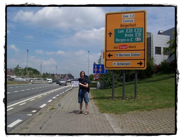 Autostop en Europe