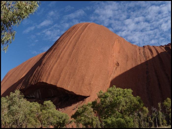 Faire le tour Uluru / Ayers Rock, Outback, Australie