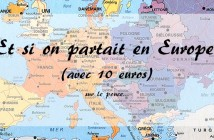 Voyager en Europe à petit budget