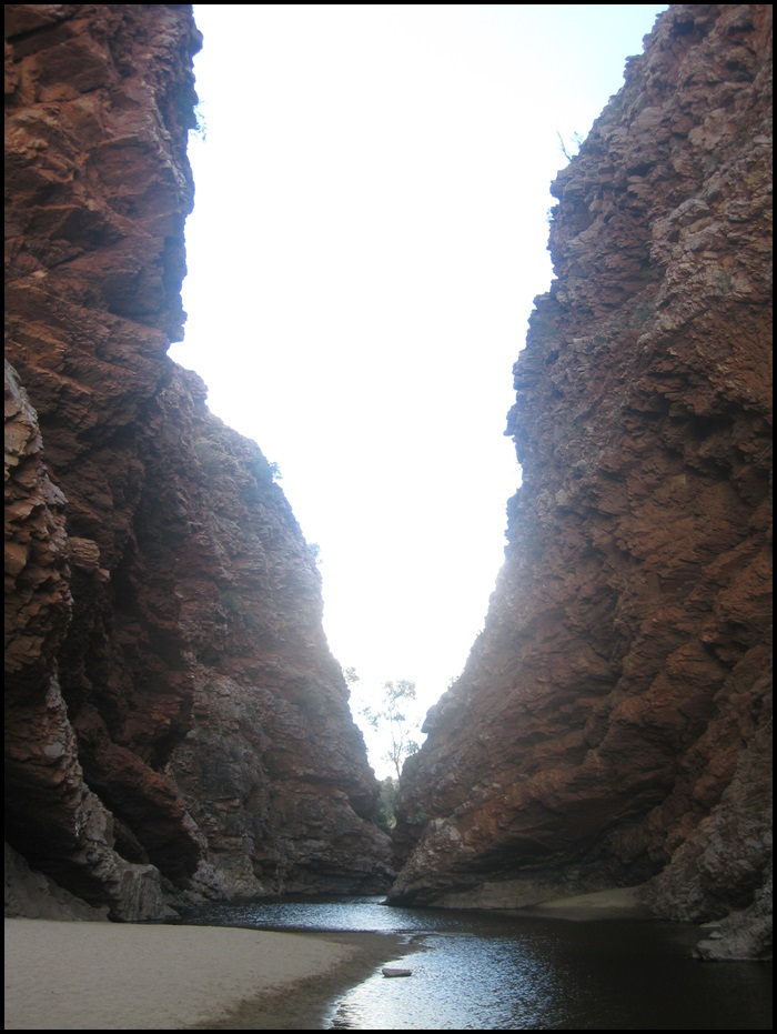 West MacDonnell Ranges, Alice Spring, Australie, Outback