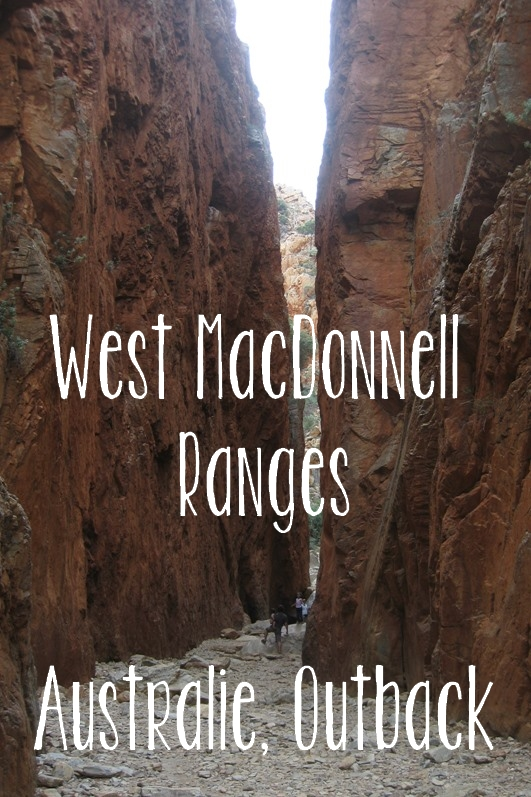 West MacDonnell Ranges, Australie, Outback