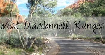 West Macdonnell ranges