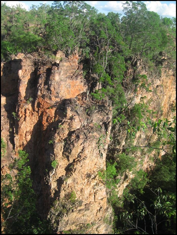 Litchfield National Park, Australie, chutes