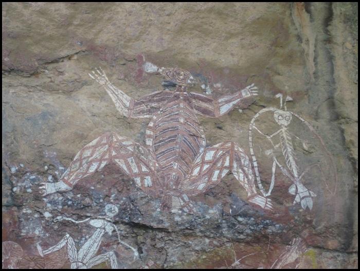Kakadu National Park peintures rupestres
