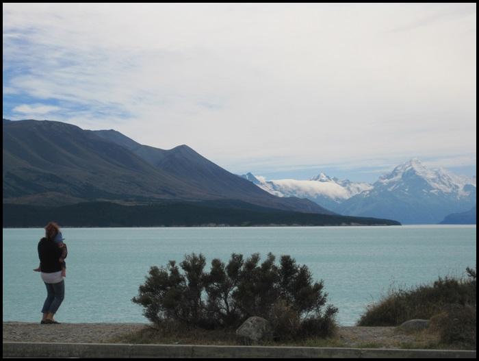 Lac Pukaki, Nouvelle-Zélande