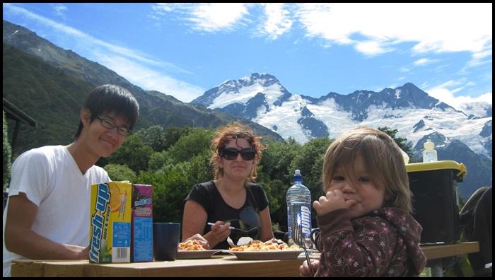Mon cook, Nouvelle-Zélande