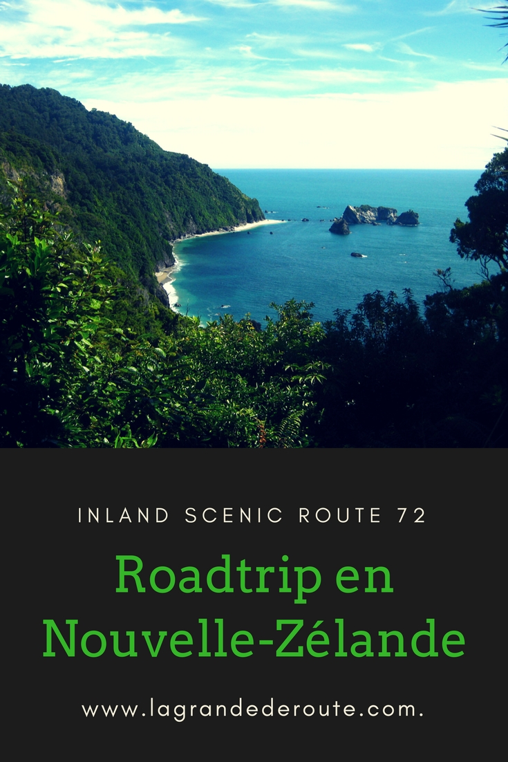 Inland Scenic route Nouvelle-Zélande