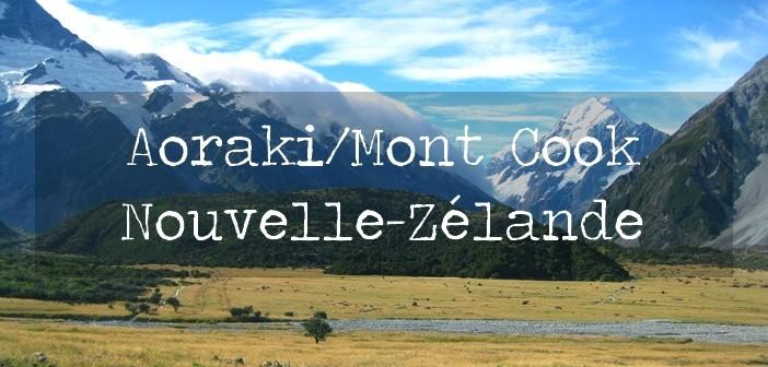 Mont Cook, Nouvelle-Zélande