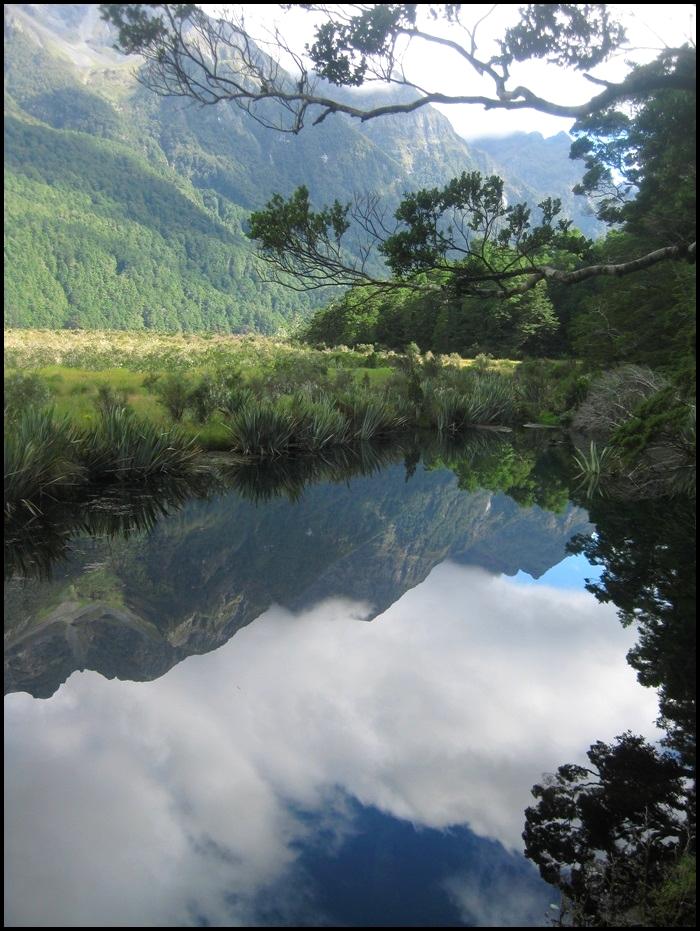 Mirror Lake, Milford Sound