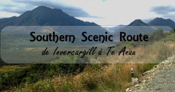 Southern Scenic Route Nouvelle-Zélande