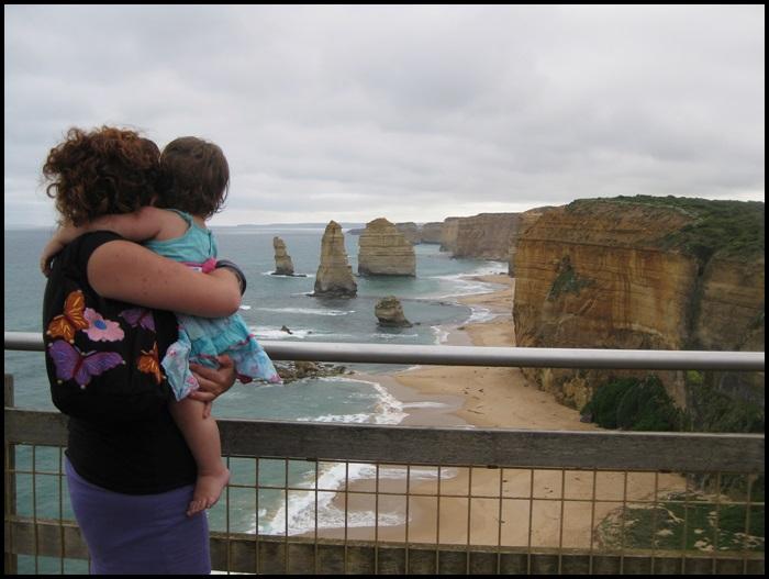 M.,, 14 mois. Great Ocean Road, Victoria, Australie.