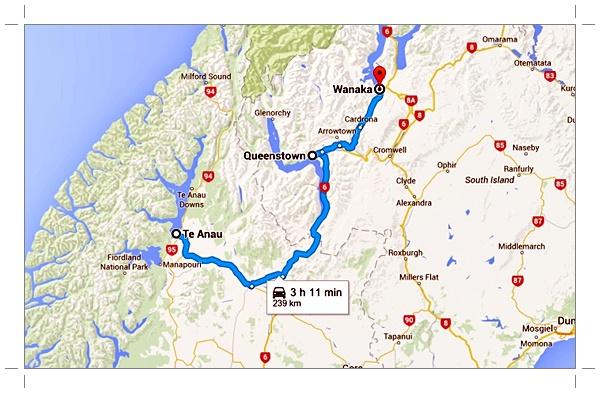 Nouvelle-Zélande : Te Anau à Wanaka
