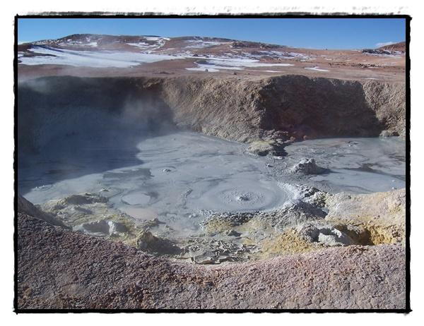 geysers de boue Bolivie