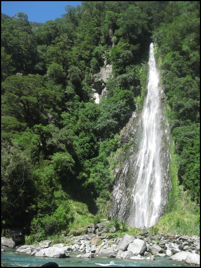 Côte ouest, île du sud, Nouvelle-Zélande, de Wanaka à Fox Glacier