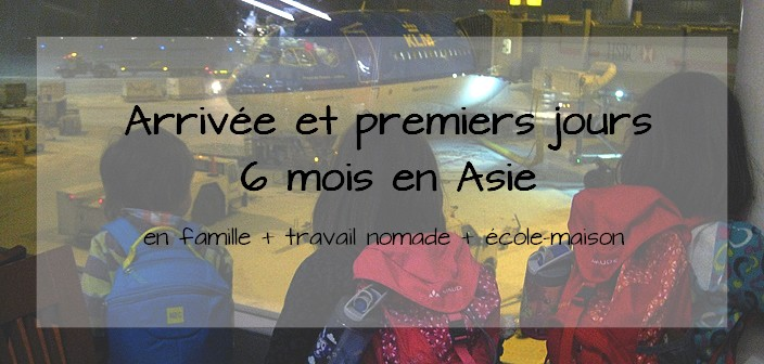 voyage Asie famille travail nomade