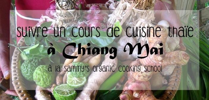 Suivre un cours de cuisine thaïe à Chiang Mai