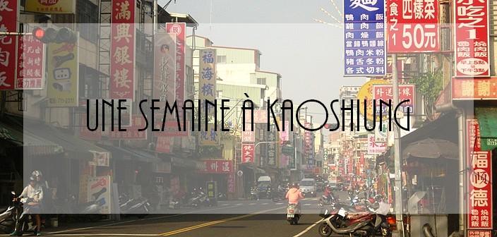 Kaoshiung, Taïwan