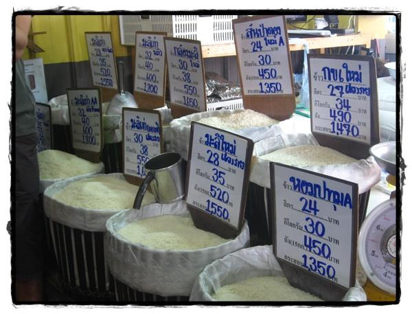 Acheter du riz en Thaïlande