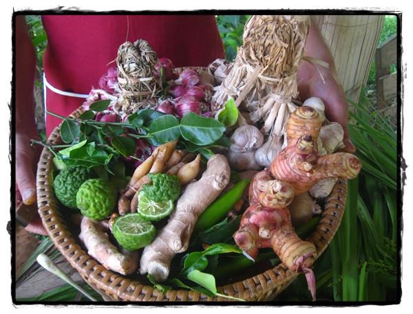 Ingrédients frais Thaïlande