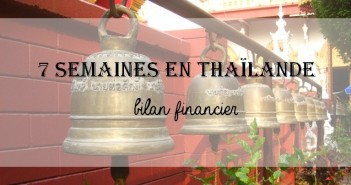 bilan financier voyage en Thaïlande