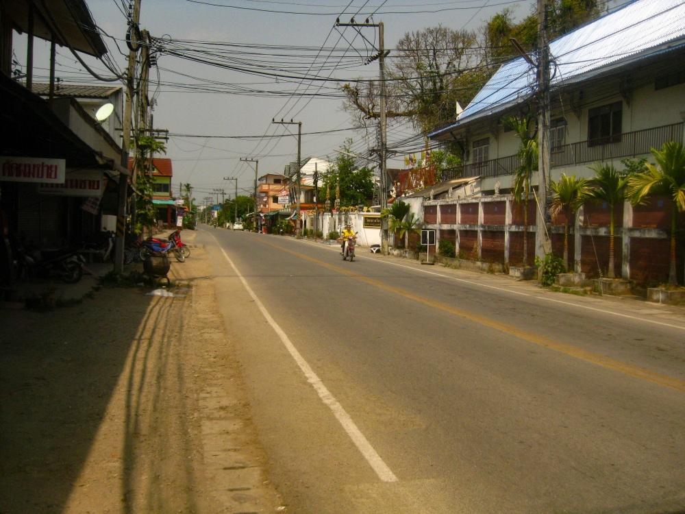 Phrao rue Thaïlande