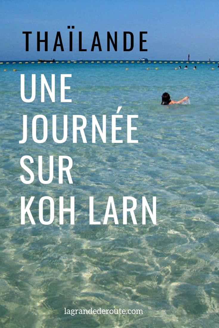 Une journée sur Koh Larn