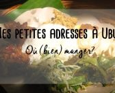 Mes petites adresses : où manger à Ubud?