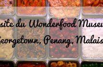 Wonderfood Museum, Georgetown, Penang, Malaisie