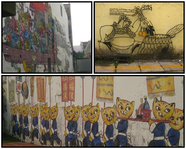 Street Art Citytrip mère-filles à Georgetown, Penang, Malaisie