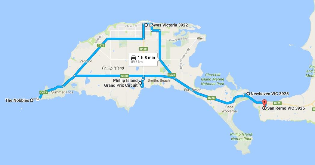 Roadtrip Phillip Island