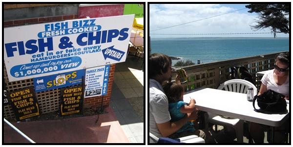 Fish n' chips Phillip Island