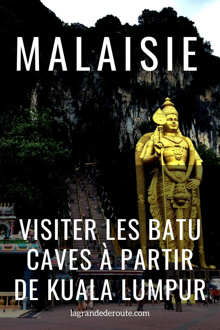 visiter les batu caves à partir de Kuala Lumpur