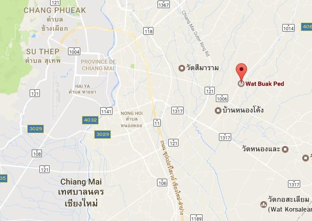 Voyage en Thaïlande, Chisng Mai, Buakped