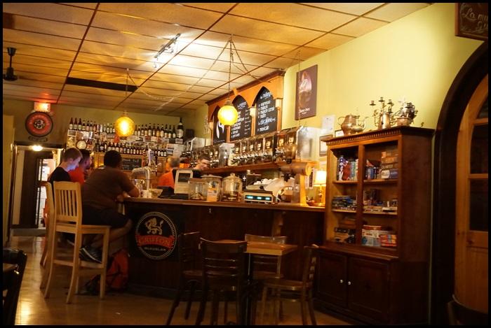Café bar l'Abstracto, Rouyn-Noranda