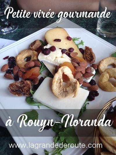 Manger et boire à ROuyn-Noranda