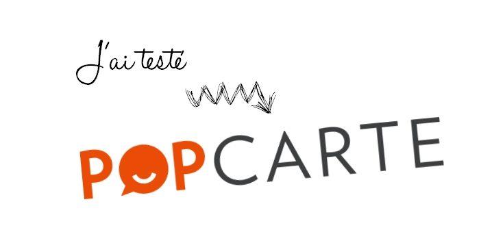 J'ai testé Popcarte