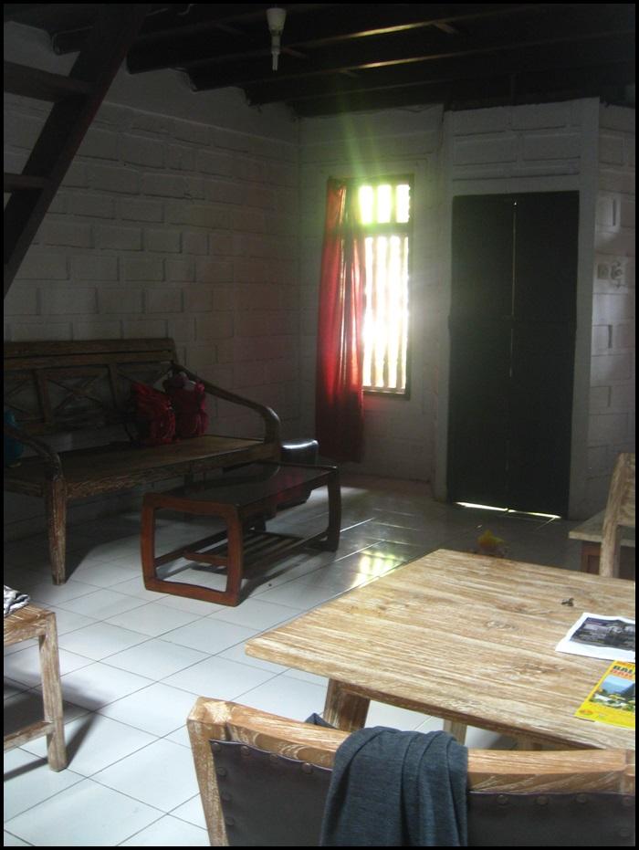 arachnophobe à Bali