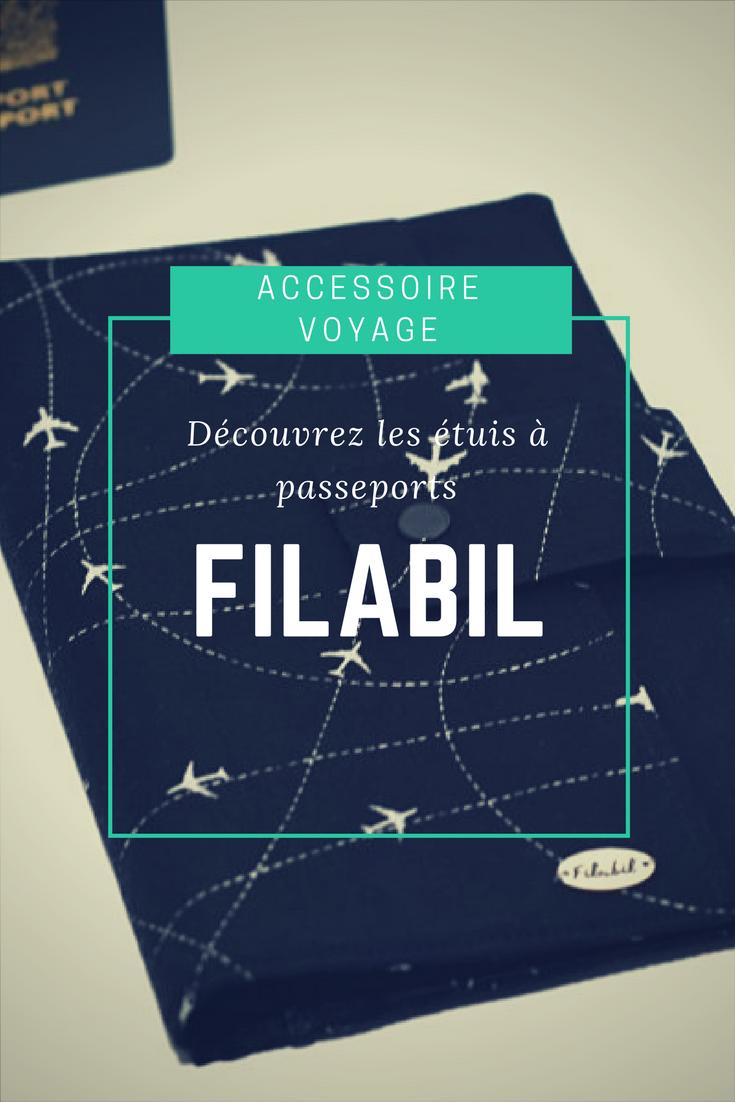 Étui à passeports Filabil