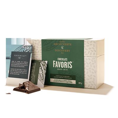 Chocolats Favoris coffret découverte pour voyageurs