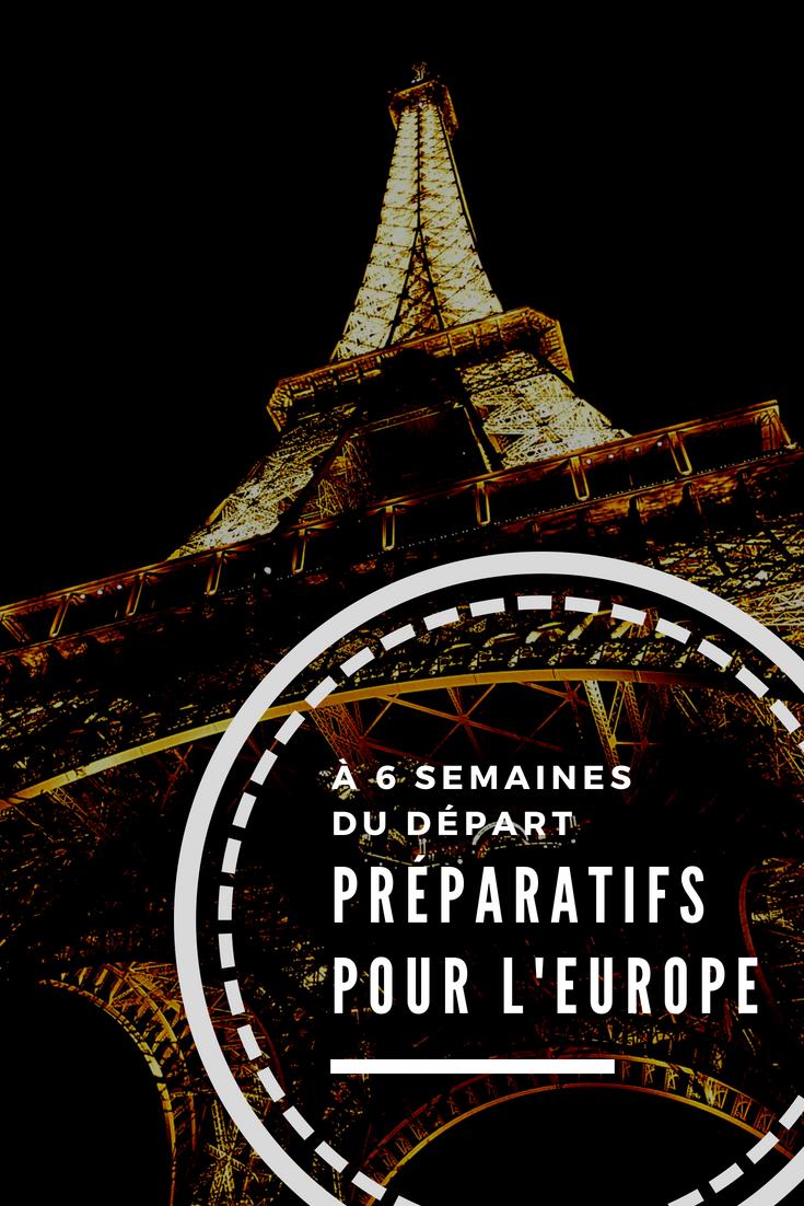 Préparer un voyage en famille en Europe : préparatifs