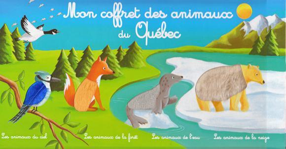mon coffret des animaux du Québec