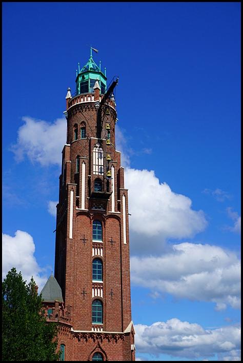 Le vieux phare de Bremerhaven