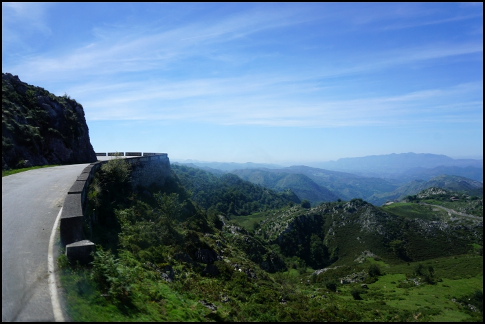 Route vers Covadonga