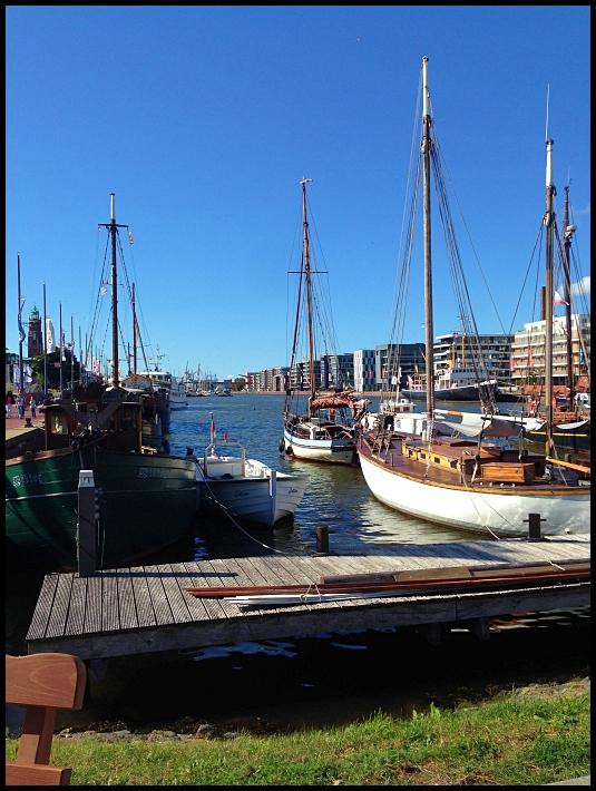 Bremerhaven, Allemagne, quartier maritime