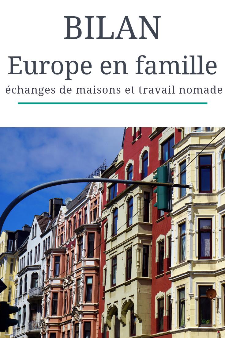 Europe en famille : bilan