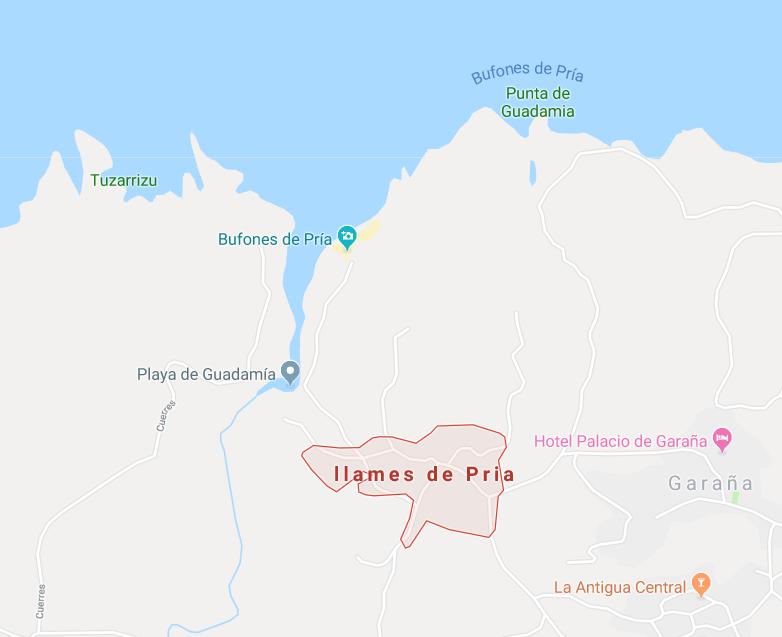 Llames de Pria, Asturies, Espagne