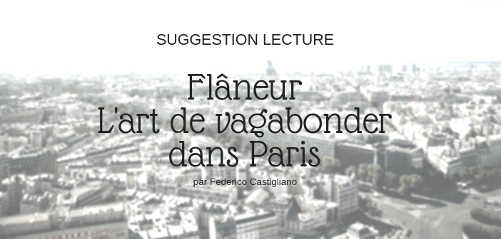 Flâneur : l'art de vagabonder dans Paris, Federico Castigliano